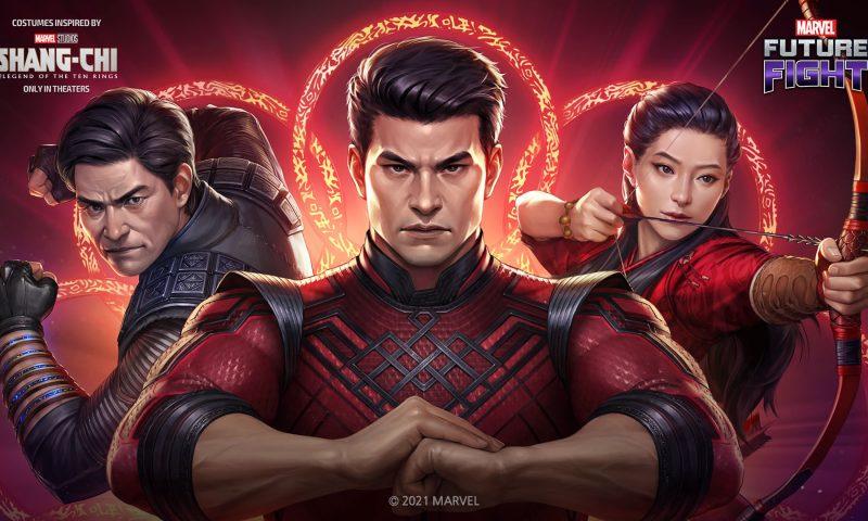 MARVEL Future Fight ปล่อยอัปเดตจากภาพยนต์ใหม่ ชางชิกับตำนานลับเท็นริงส์