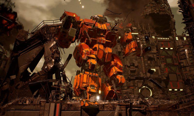 MechWarrior 5: Mercenaries กำลังเปิดตัวในคอนโซล 23 กันยายน