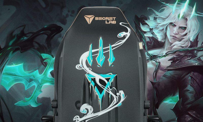 Secretlab เผยโฉมเก้าอี้ใหม่จากเกมชื่อดัง LOL ในงาน Rise of the Sentinels