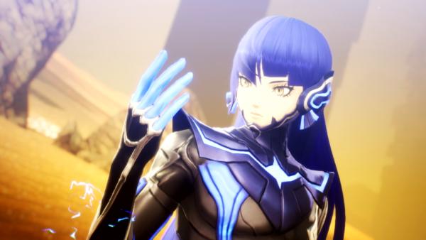 Shin Megami Tensei V เผยตัวอย่างใหม่ Nahobino นักสู้สีฟ้า