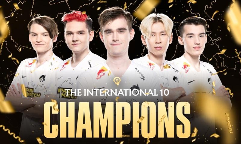 Dota2 ม้ามืดคว้าแชมป์ Team Spirit ถือถ้วย TI10 แม้เคยเข้ามาแข่งเป็นครั้งแรก