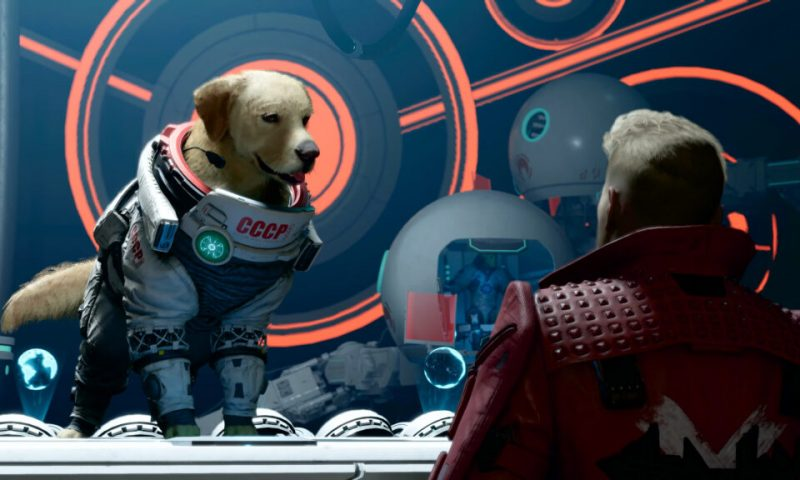 Marvel's Guardians of the Galaxy เผยภาพยนตร์ Cosmo the Space Dog