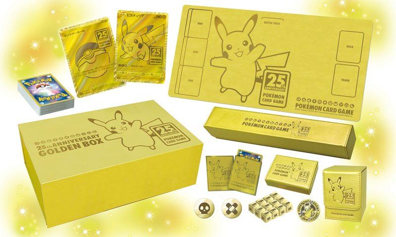 Pokemon TCG 25 Anniversary Golden Box เปิดให้สั่งจองแล้ว