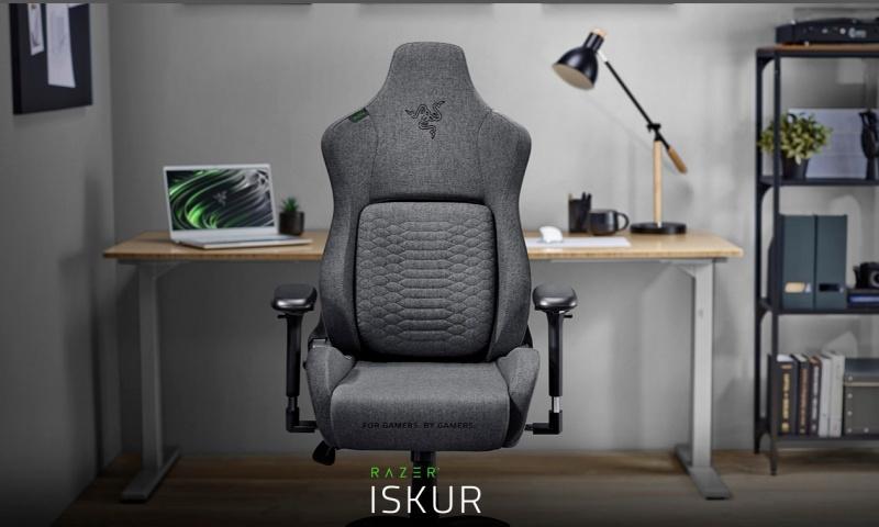 RAZER เปิดตัว RAZER ISKUR เก้าอี้เล่นเกมแบบผ้าออกแบบตามหลักสรีรศาสตร์