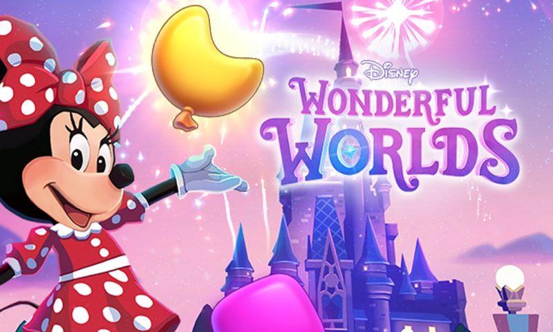 Wonderful Worlds เกมจับคู่ปริศนาธีมใน Disney พร้อมให้บริการ